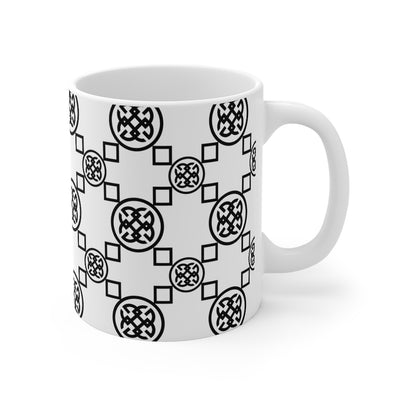Signature Collection White-On-Black Mug