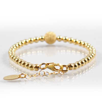 Gold Enchants Bracelet
