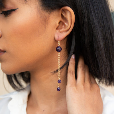 Clarus Drop Earrings