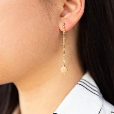 Gold Enchants Earrings