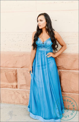 The Poppy - Royal Blue Drifter Dreams Dresses