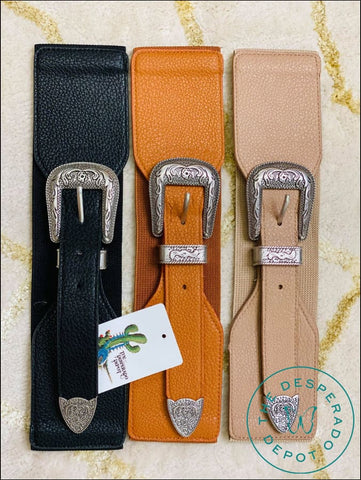 Western Fashion Belts - 3 Colors