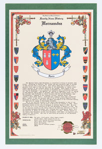 History and Meaning of your Family Name and Family Crest or Heraldic Coat of Arms