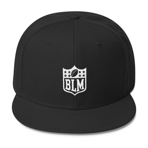 BLM TAKE A KNEE Snapback Hat