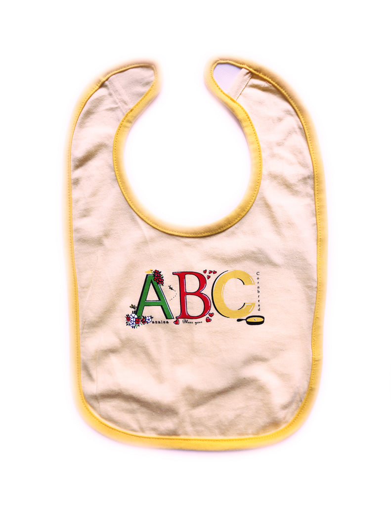 ABC Banana Bib