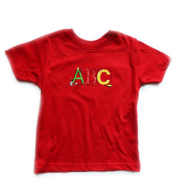 ABC Ruby Toddler Tee