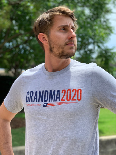 Grandma 2020 - Manners First Campaign Shirt