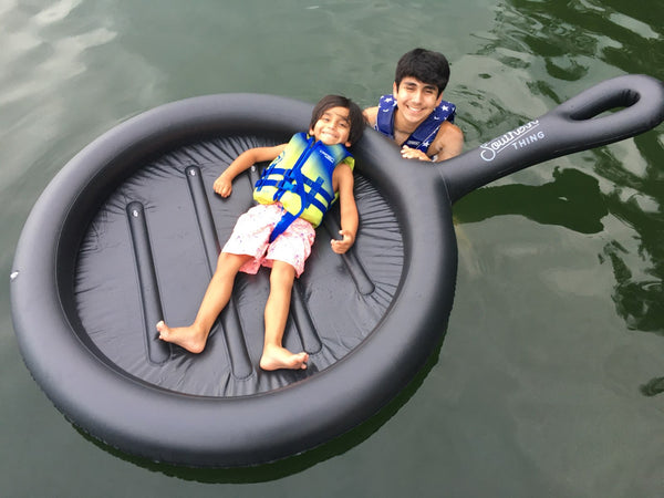 Special Edition: Cast Iron Pool Float