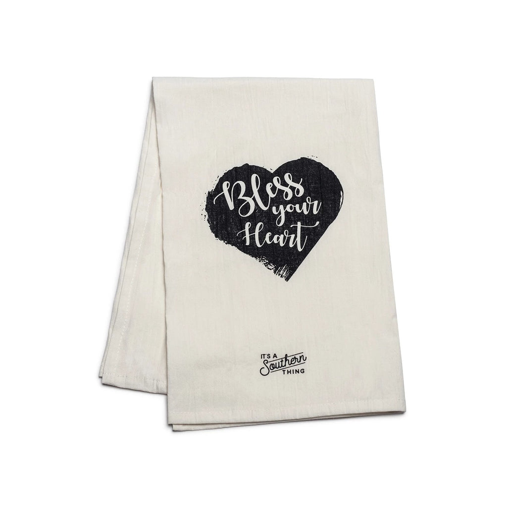 Bless Your Heart - Tea Towel