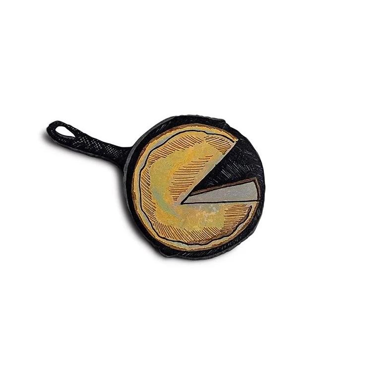 Cornbread in a Cast Iron Skillet Magnet