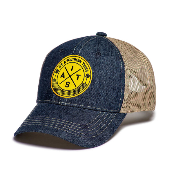 IAST Railroad Crossing Trucker Hat