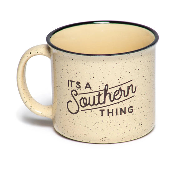 It's a Southern Thing Logo Campfire Mug