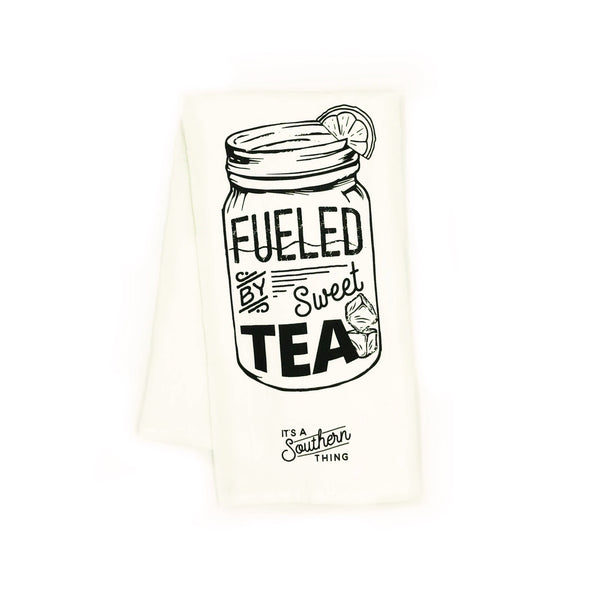 Fueled by Sweet Tea Tea Towel