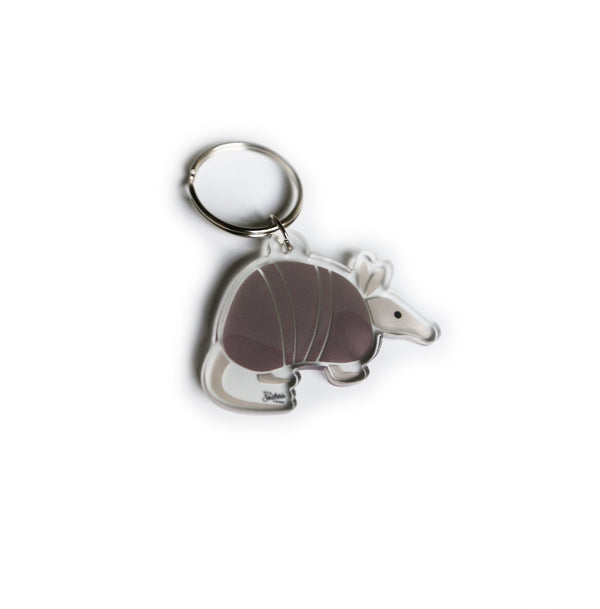 Southern Critter Key Chain- Armadillo