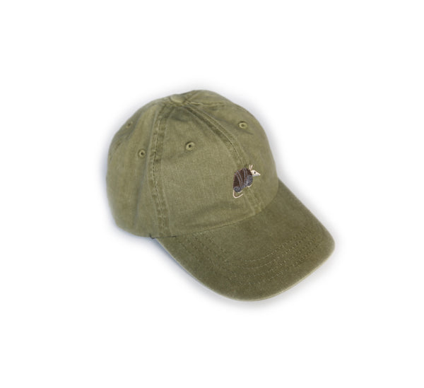 Southern Critter Dad Hat- Armadillo