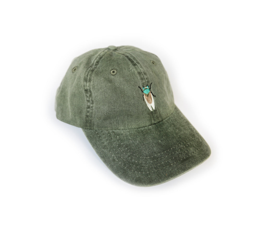 Southern Critter Dad Hat- Cicada