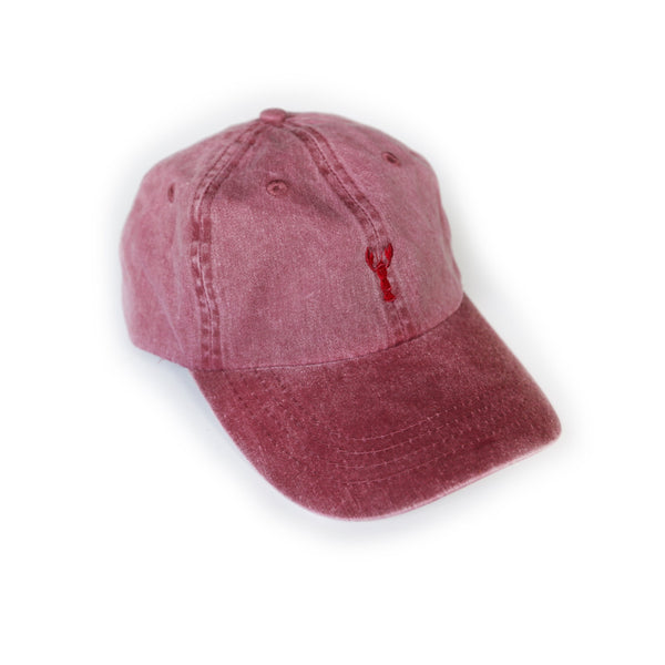 Southern Critter Dad Hat- Crawfish