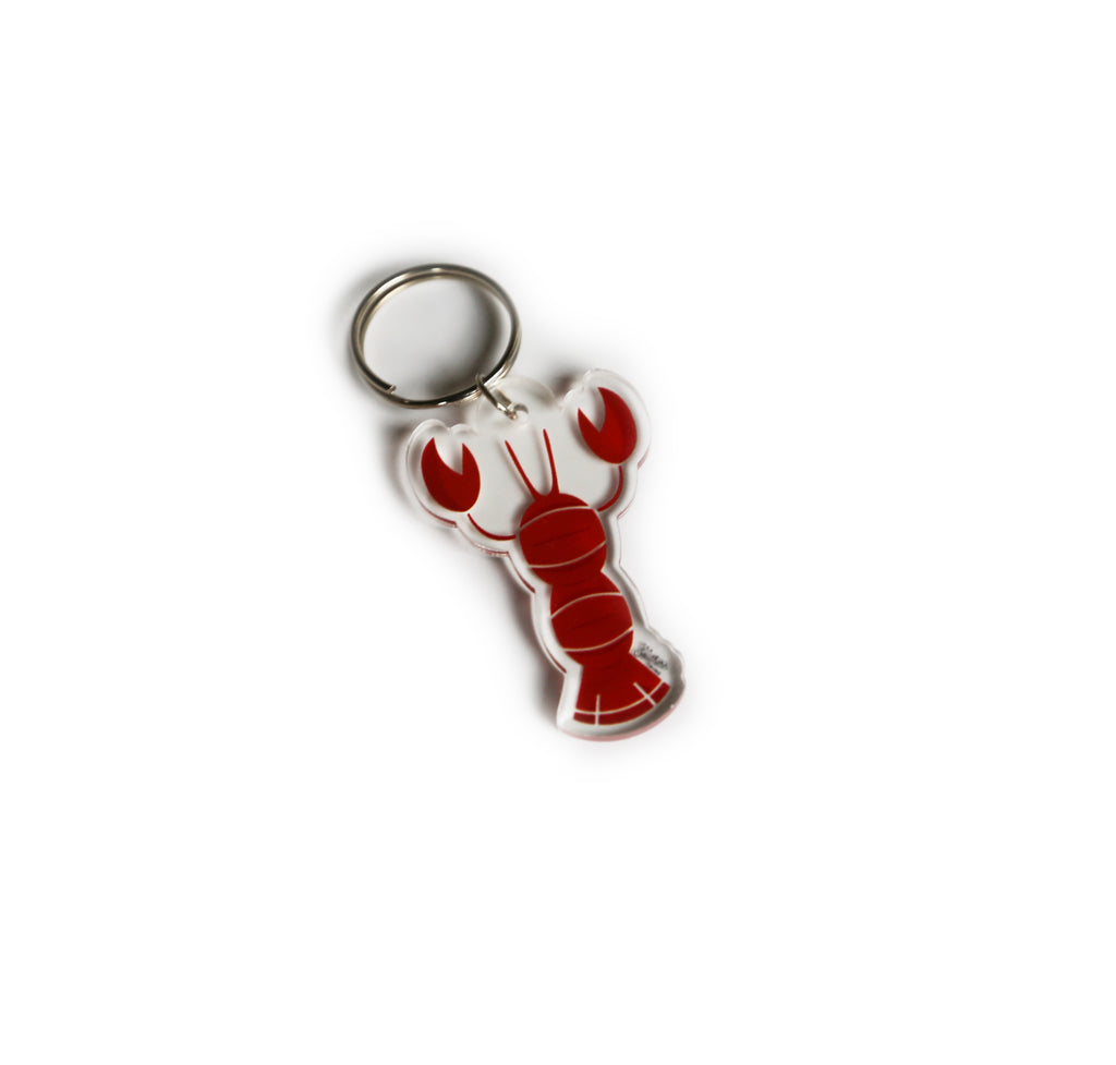 Southern Critter Key Chain- Crawfish