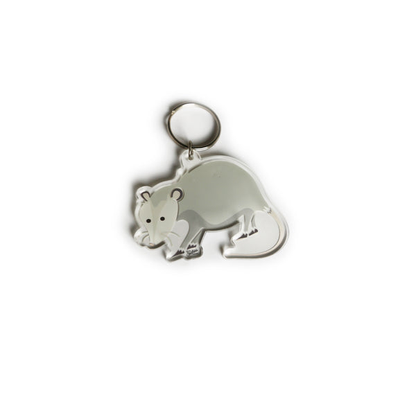 Southern Critter Key Chain- Possum