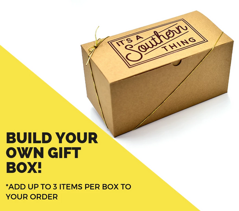 Gift Box Option - Add to card along with items you want packed up