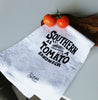 Southern As A Tomato Sandwich Tea Towel