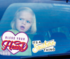 Large IAST Logo Static Cling Window Stickers