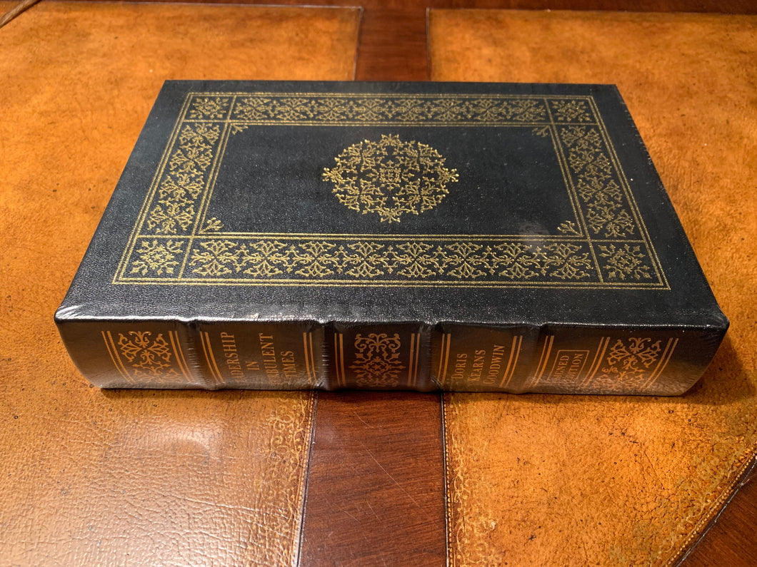 Easton Press LEADERSHIP Doris Kearns Goodwin Signed Edition SEALED