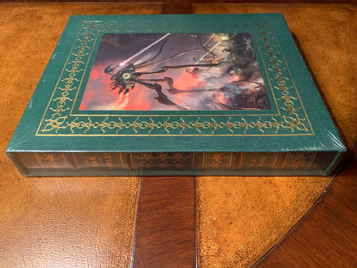 Easton Press WAR OF THE WORLDS H.G. Wells DELUXE ARTIST SIGNED SEALED Limited