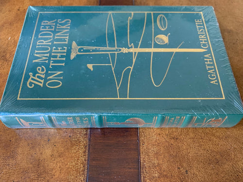 Easton Press MURDER ON THE LINKS Agatha Christie SEALED
