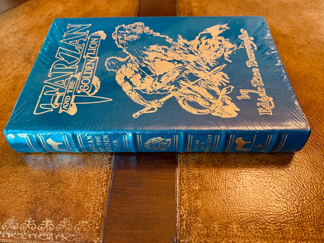 Easton Press TARZAN AND THE GOLDEN LION Edgar Rice Burroughs SEALED