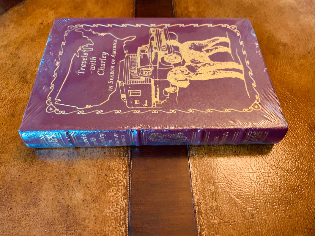 Easton Press TRAVELS WITH CHARLEY John Steinbeck SEALED