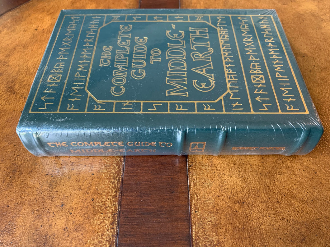 Easton Press THE COMPLETE GUIDE TO MIDDLE EARTH JRR Tolkien SEALED