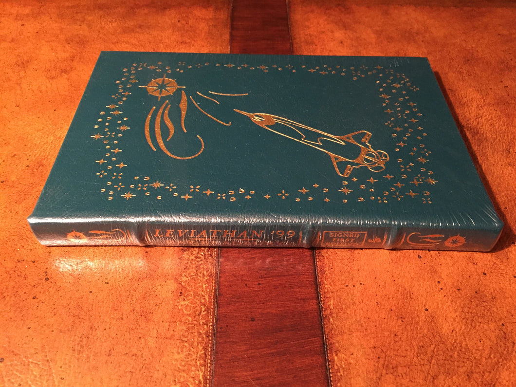 Easton Press LEVIATHAN 99 Bradbury SIGNED FIRST EDITION SEALED
