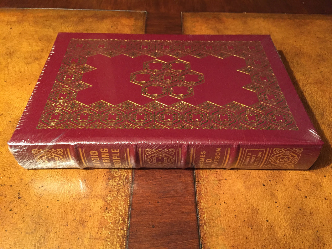 Easton Press AVOID BORING PEOPLE Watson SIGNED FIRST EDITION SEALED