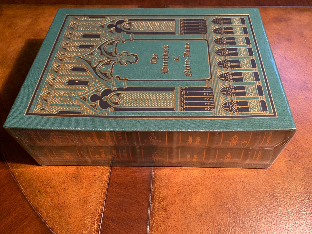 Easton Press THE HUNCHBACK OF NOTRE DAME Hugo Deluxe Limited Edition SEALED