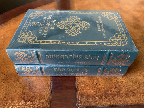Easton Press J.R.R. TOLKIEN'S MORGOTH'S RING & THE WAR OF THE JEWELS SEALED