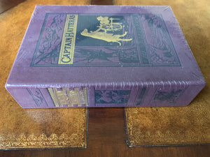 Easton Press VERNE: THE VOYAGES AND ADVENTURES OF CAPTAIN HATTERAS SEALED Deluxe