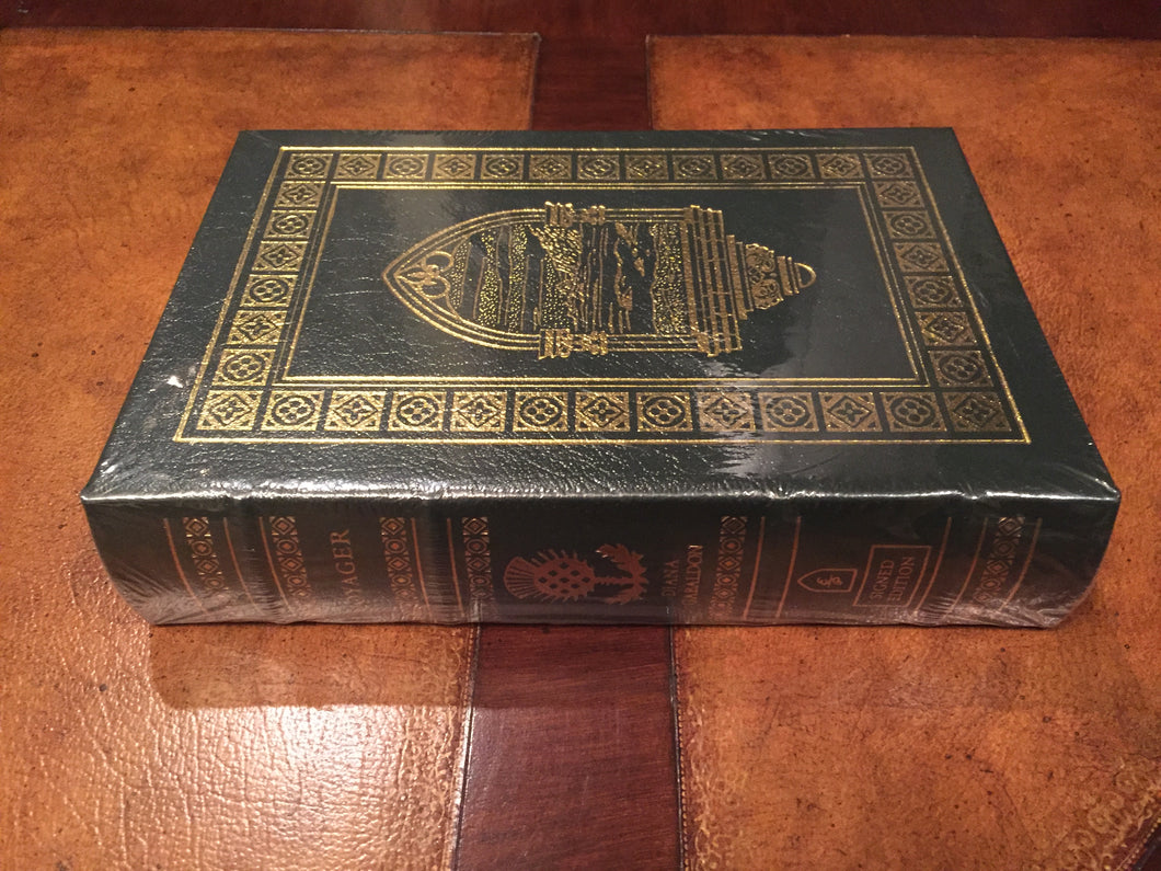 Easton Press VOYAGER Diana Gabaldon SIGNED SEALED Book 3 Outlander Series