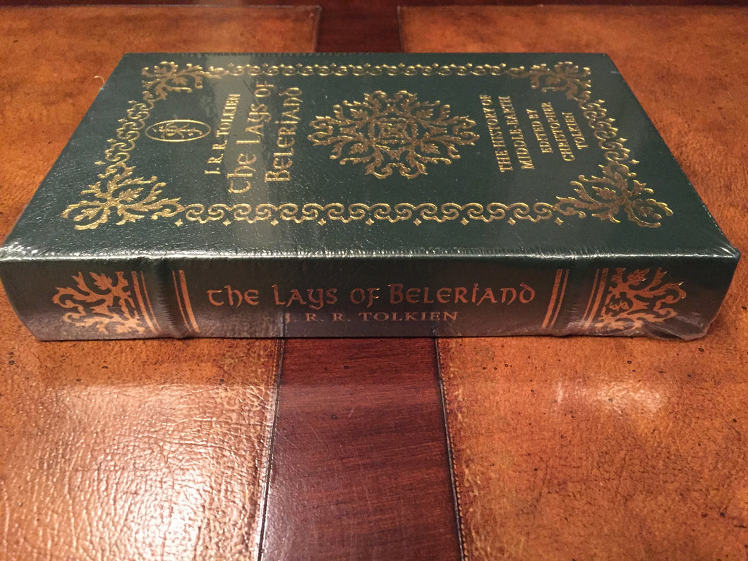Easton Press J.R.R. TOLKIEN'S THE LAYS OF BELERIAND SEALED