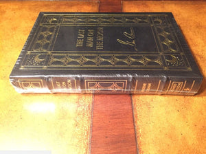 Easton Press LAST MAN ON MOON Cernan SIGNED SEALED with flaw