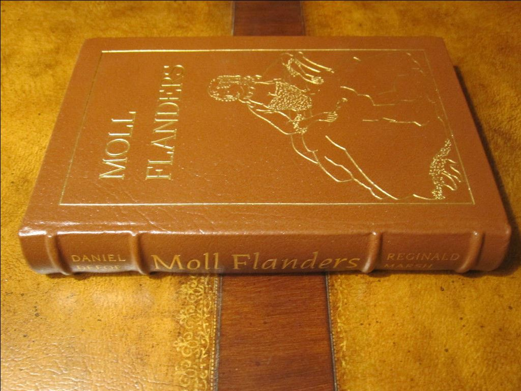 Easton Press MOLL FLANDERS Daniel Defoe Famous Editions