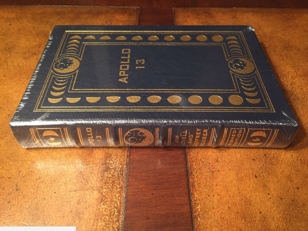 Easton Press APOLLO 13 Lovell & Kluger SIGNED EDITION SEALED