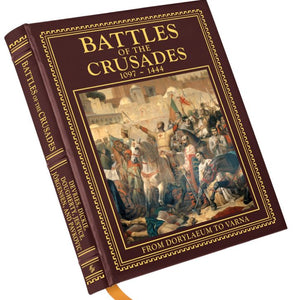 Easton Press BATTLES OF THE CRUSADES Dickie Jestice Jorgensen & Pavkovic SEALED