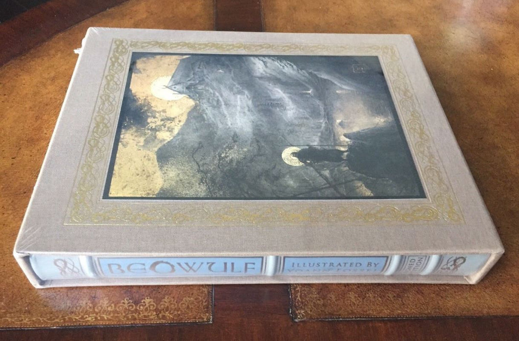 Easton Press BEOWULF Deluxe Limited Slipcase SIGNED SEALED