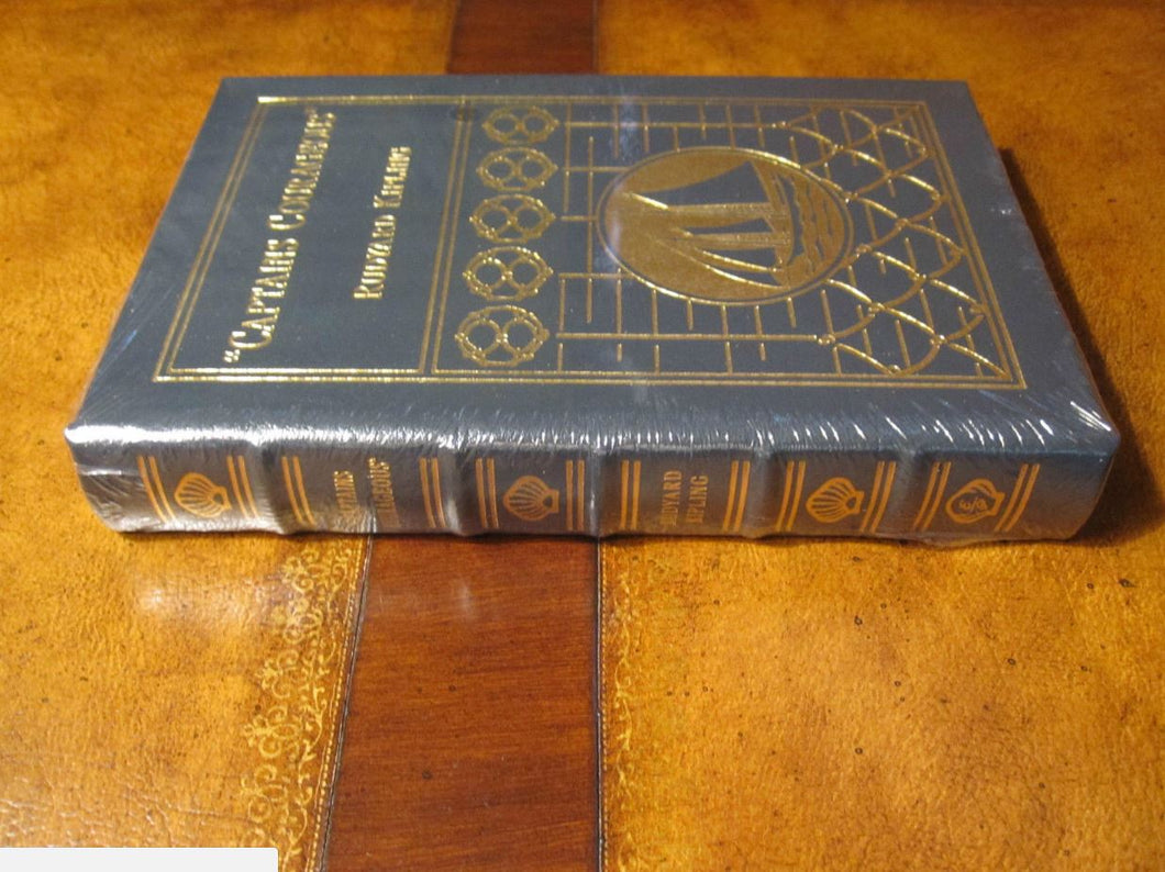 Easton Press CAPTAINS COURAGEOUS Rudyard Kipling SEALED