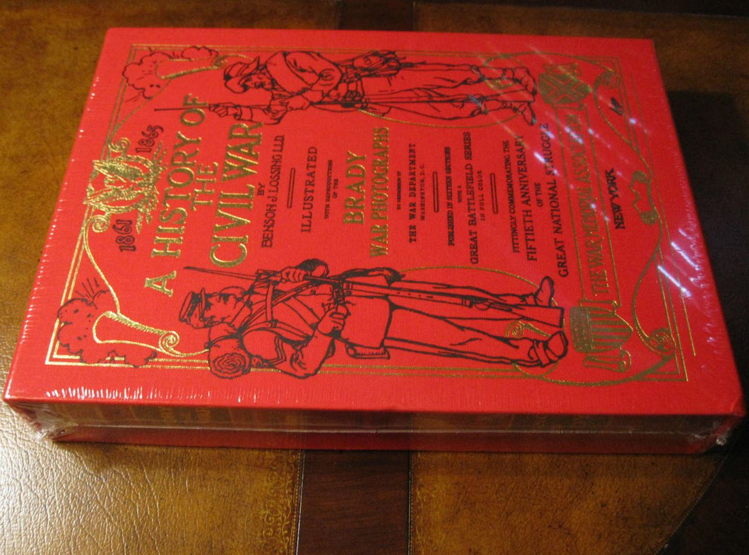 Easton Press A HISTORY OF THE CIVIL WAR SEALED