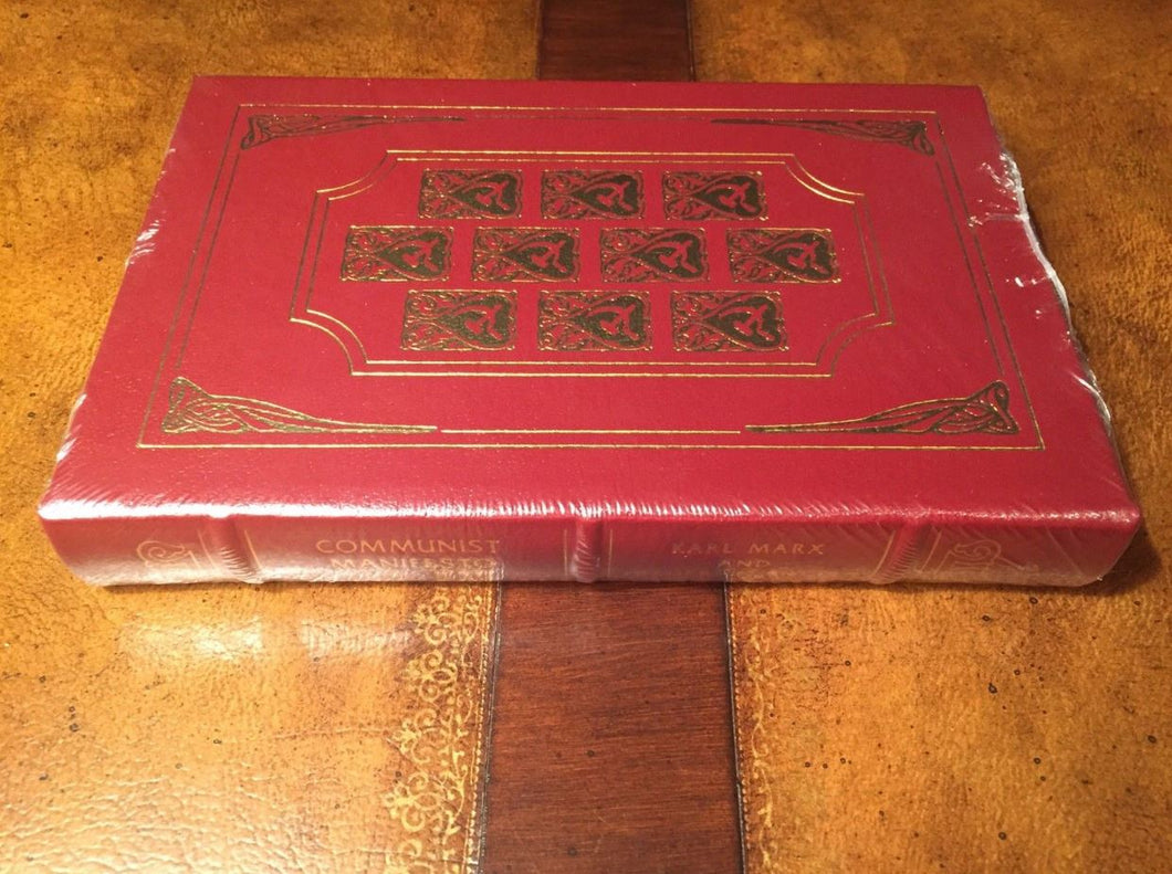Easton Press COMMUNIST MANIFESTO Marx & Engels SEALED