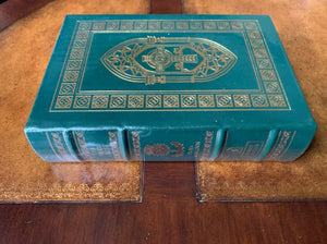 Easton Press THE FIERY CROSS Book 5 OUTLANDER Diana Gabaldon SIGNED SEALED