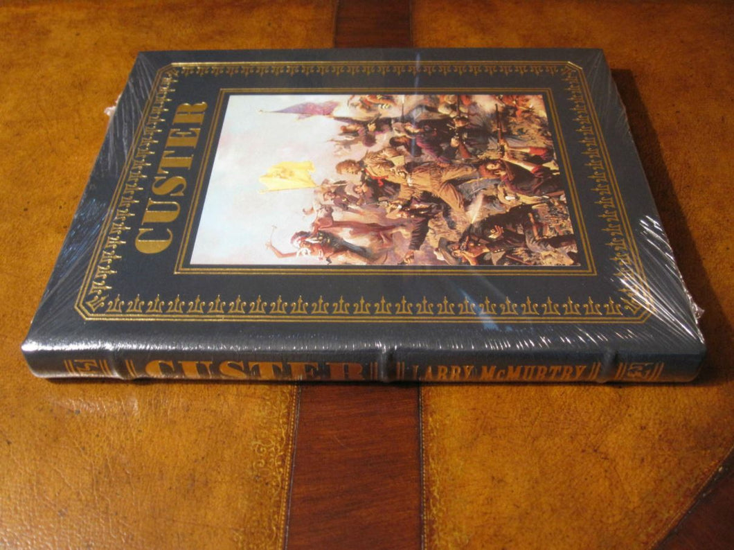 Easton Press CUSTER Signed McMurtry SEALED