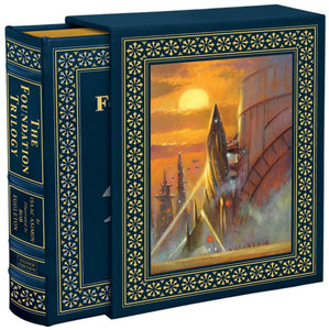 Easton Press FOUNDATION TRILOGY Isaac Asimov DELUXE ARTIST SIGNED SEALED